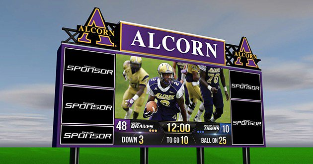 Punt, Pass and Pixels — New scoreboard could mean big business for Alcorn State football https://t.co/mNginQo4v3 https://t.co/oZx4k27u1P