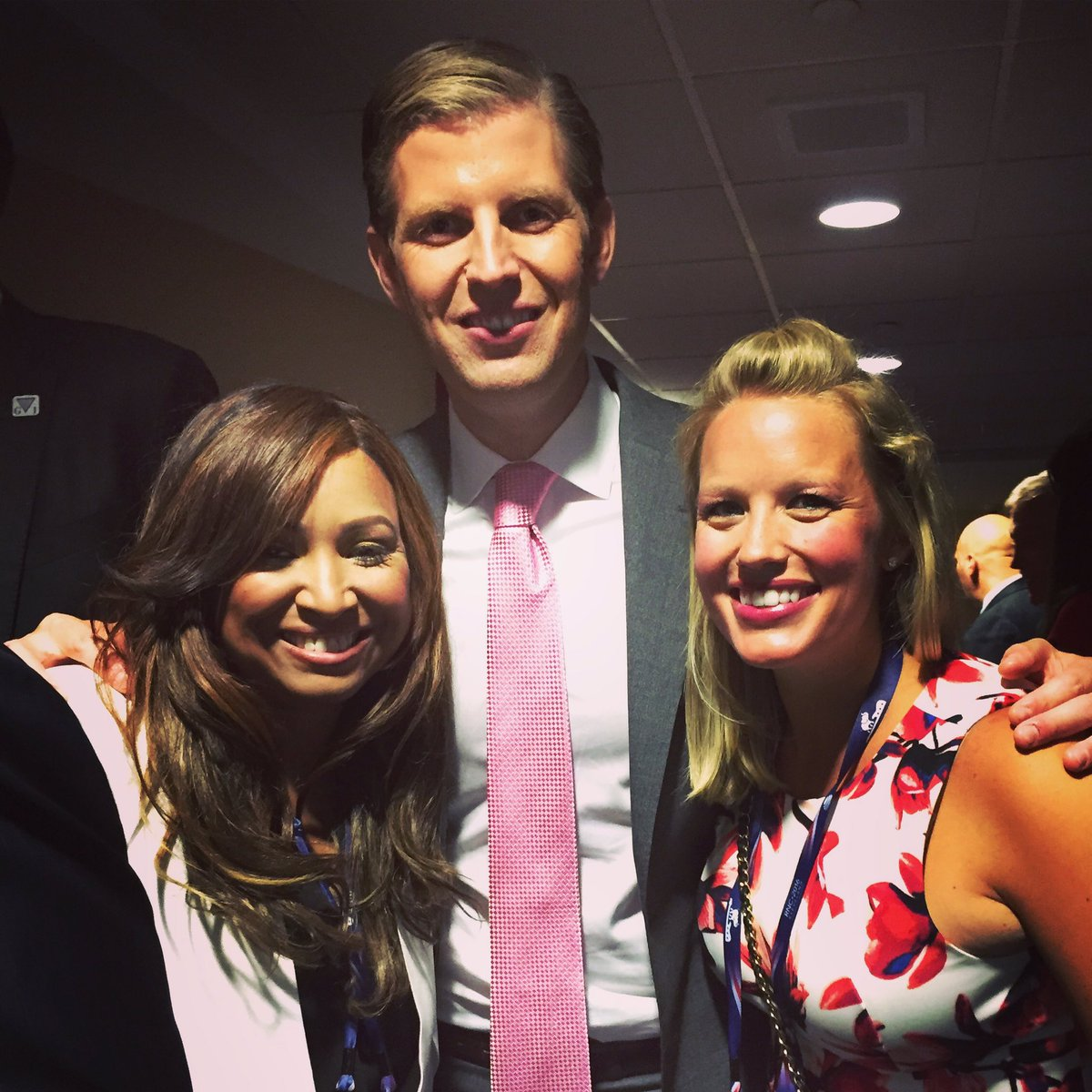 So proud of our Founder, @EricTrump & our VP, @LynnePatton, who both brought recognition last night to @StJude!
