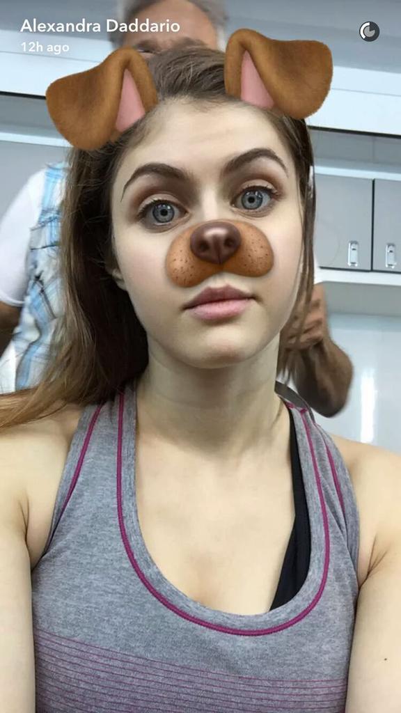 Alexandra Daddario Leah Gotti