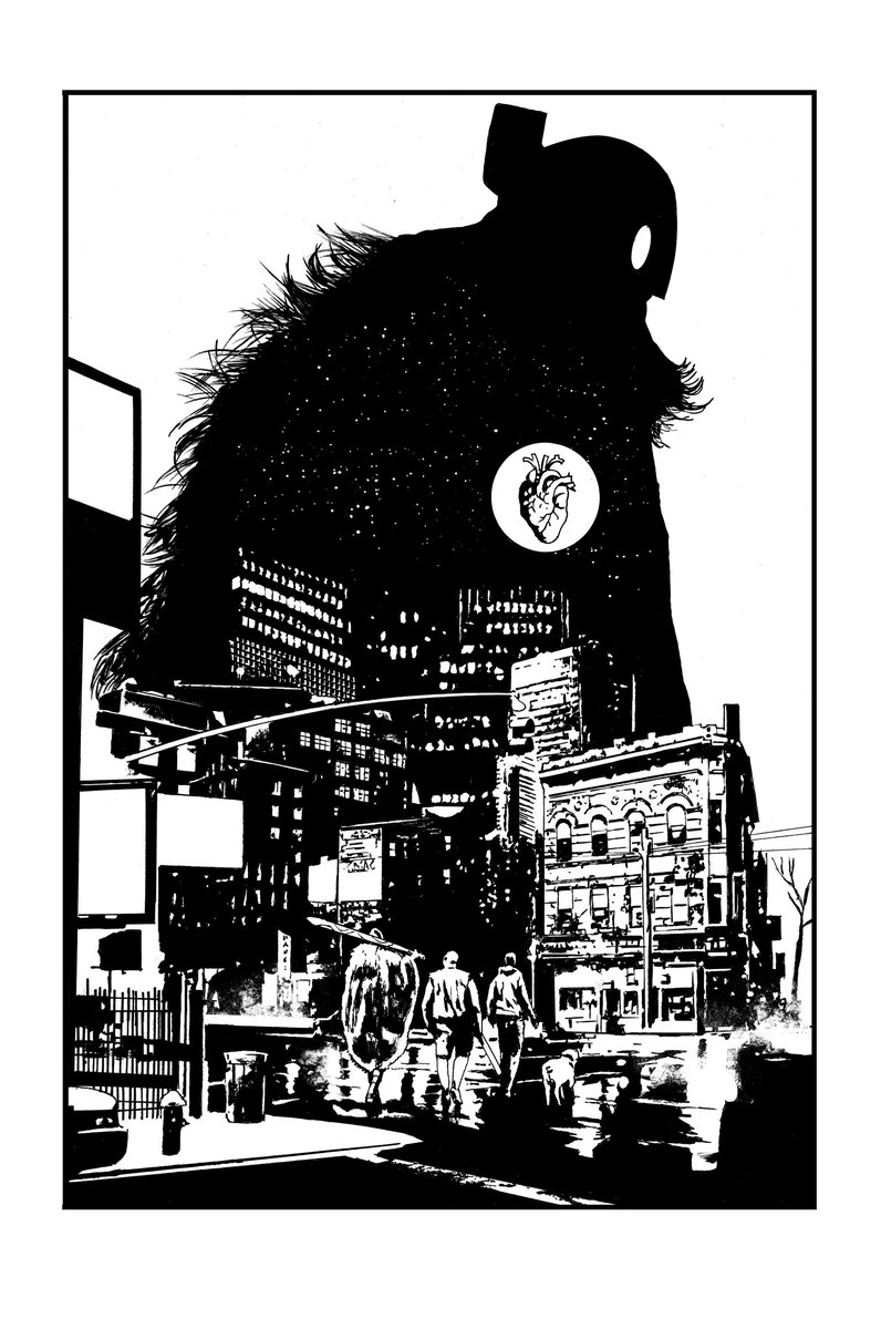 Love Rumble !  Here's my pin up which will be in the third trade paperback. https://t.co/eenQ3IFpkL