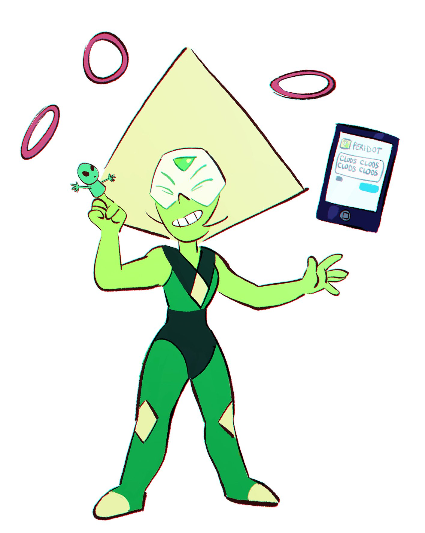 """I LOVE YOU, CLOD @PERIDOT5XG"""