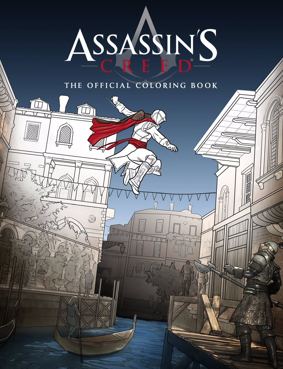 Stop By InsightEditions Booth 1703 At SDCC2016 To Color Pages From The AssassinsCreed Official Coloring Bookpictwitter W0PJNW4NIi
