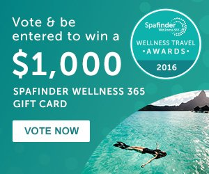 Vote in the Wellness Travel Awards & be entered to win a $1K @Spafinder giftcard! #WTA2016 https://t.co/ZgDM3kkIvn https://t.co/9IBzWj70NI