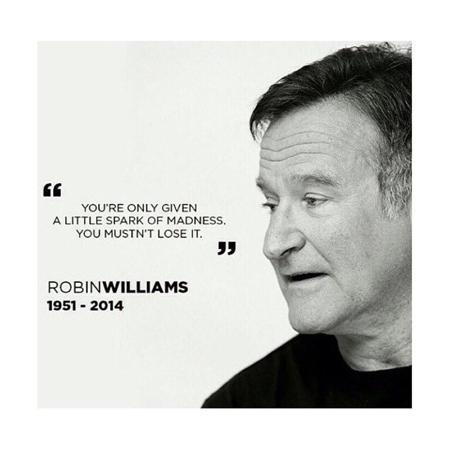 Robin Williams would have turned 65 today. We will always remember the laughter & wisdom he shared with the world.