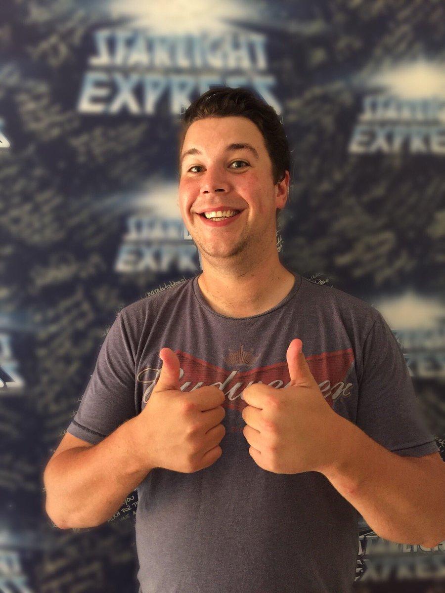Alex Bochum starlight express on luck to matt rlin who will