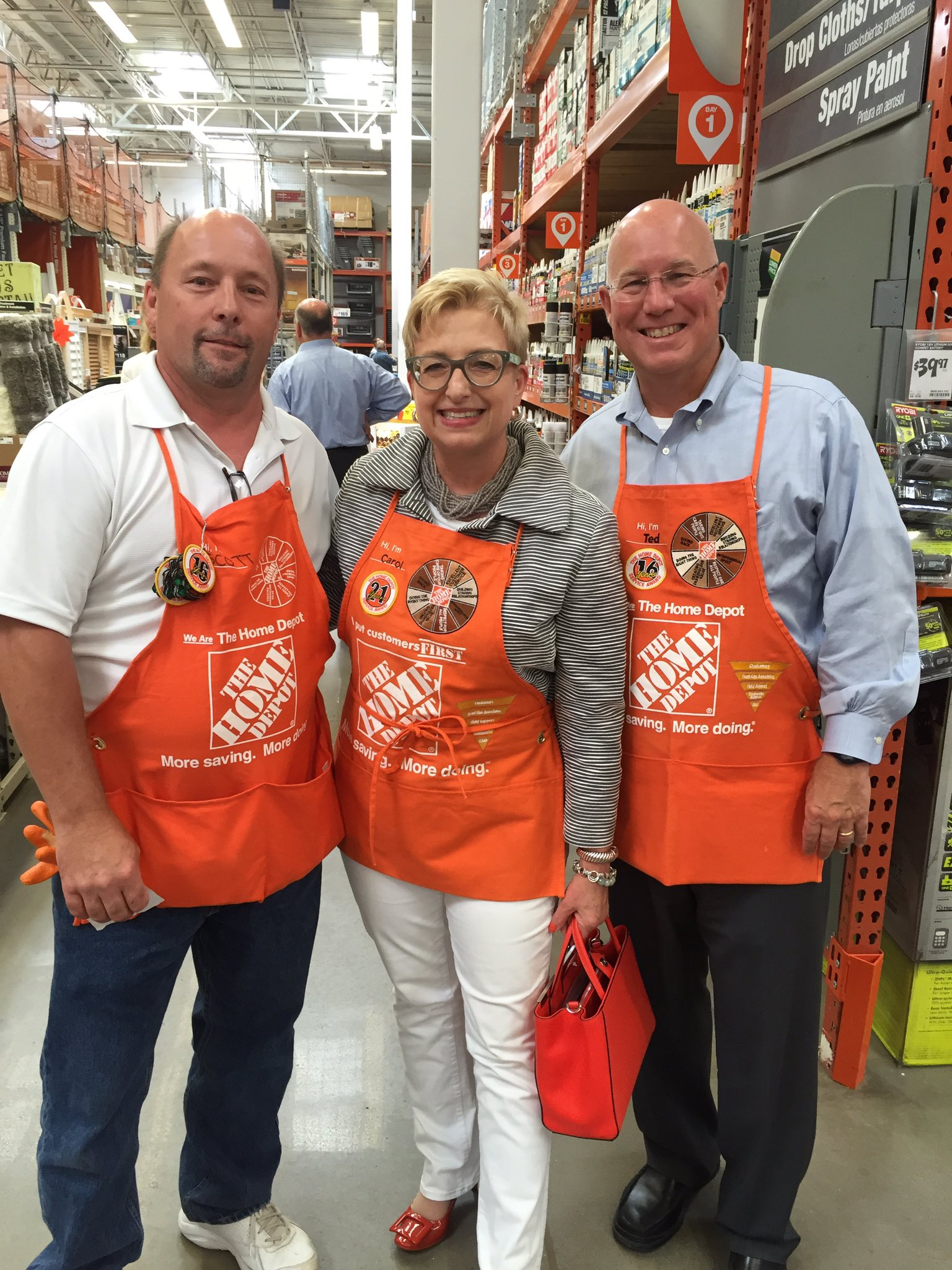 Rocky Williams on Twitter So excited to show Carol and Ted store