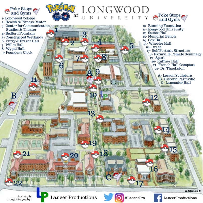 Longwood University Map My Blog