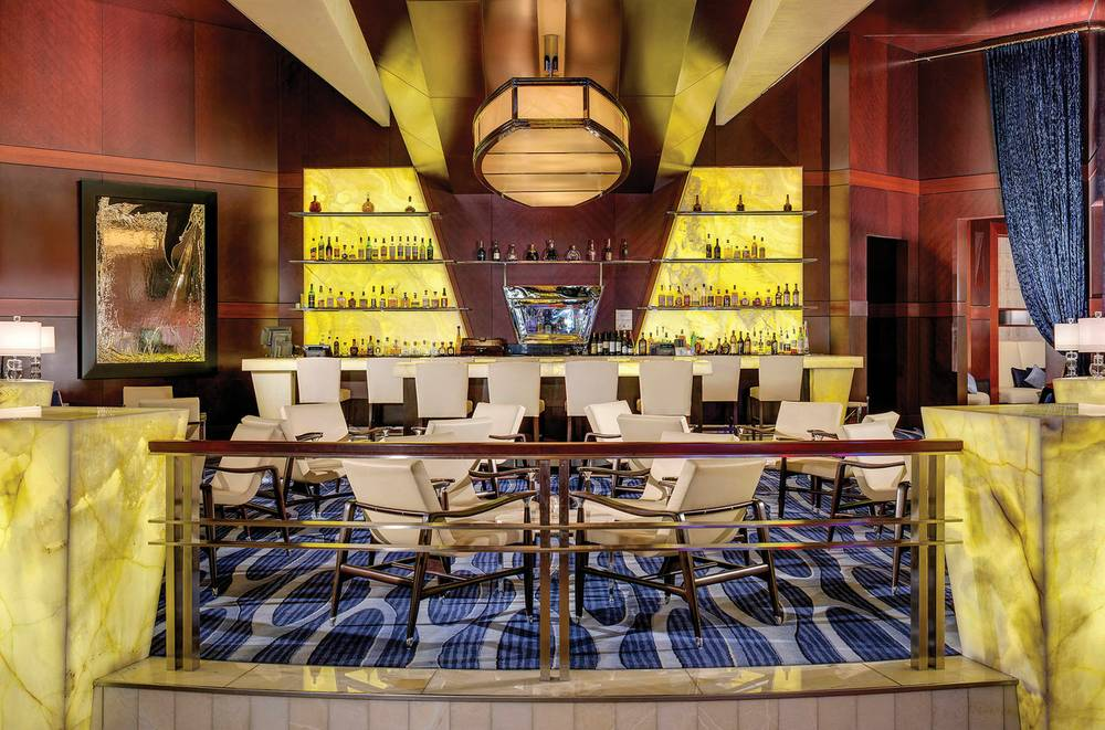 The revamped Onyx Bar offers an educated whiskey experience