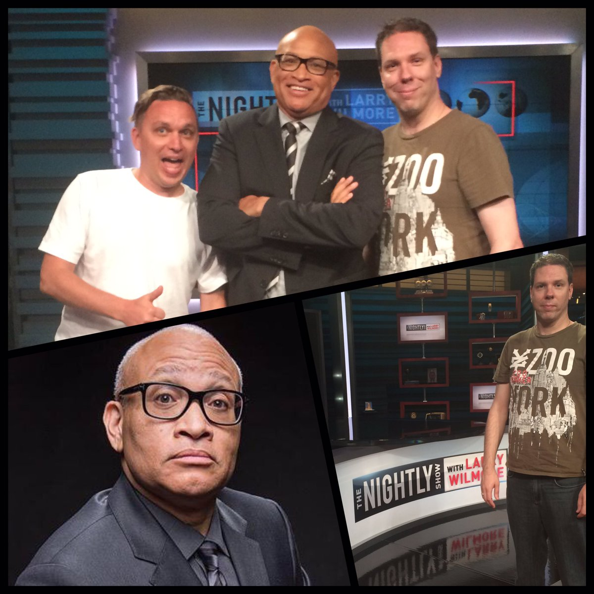 Thanks to @larrywilmore and the  @nightlyshow team for hosting us at tonight's amazing show! https://t.co/ZOQ28DL5yu