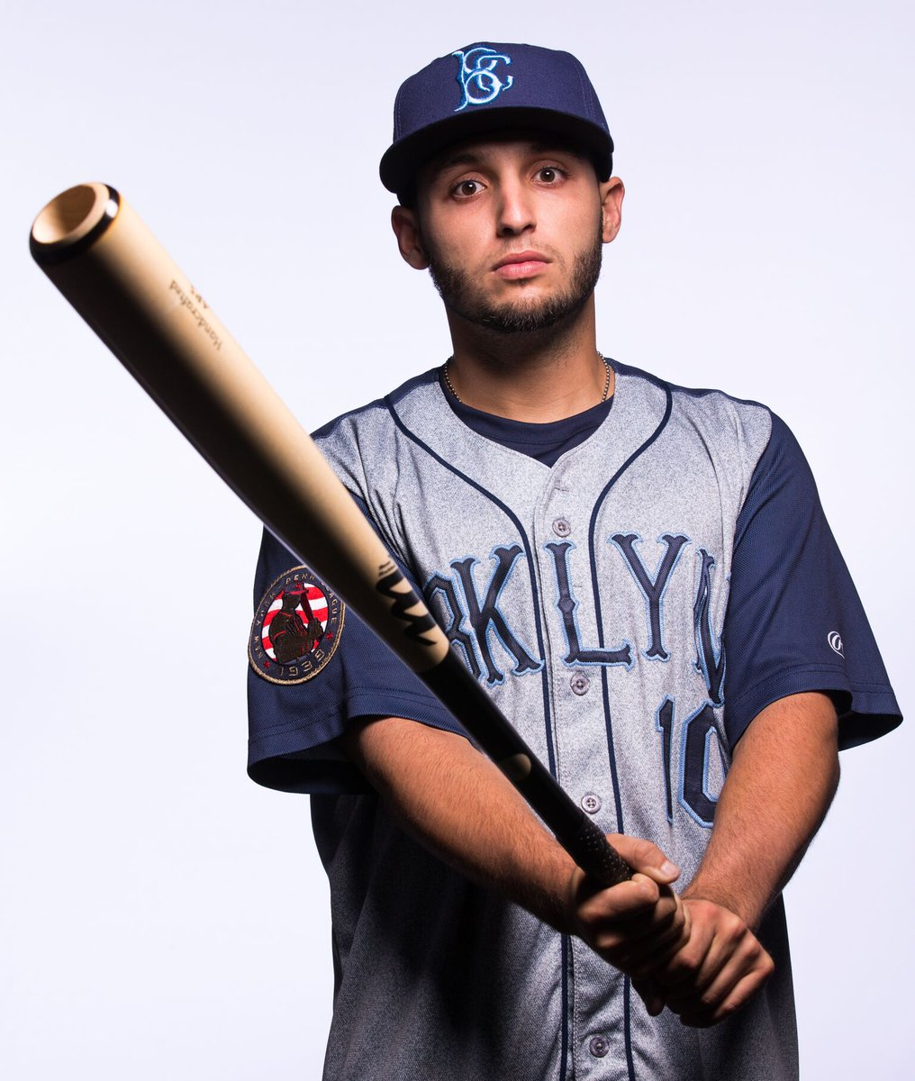 @GoCCUsports product Michael Paez blast his first pro home run to left field. BKLYN leads 3-0 in the top of the 7th https://t.co/e48qXHn6NW