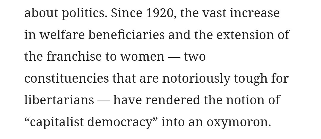 Just a reminder that Peter Thiel is a crazyperson who thinks women's suffrage was a bad idea https://t.co/uImb9zwdpR https://t.co/PDxVyqBIyj