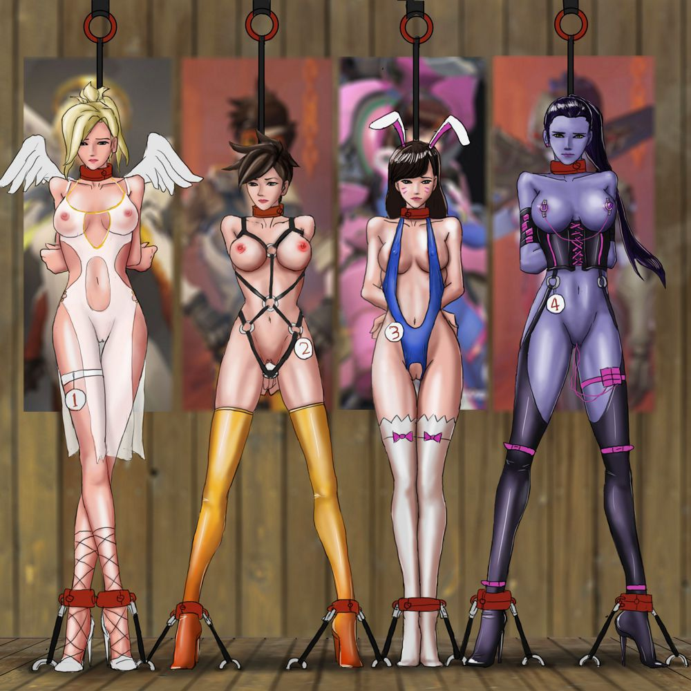 "All Overwatch Girls Naked sex slave market on twitter: ""we got some specialty ones"