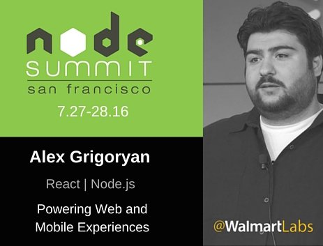 #React & #Nodejs power our web/#mobile applications. Alex Grigoryan shares why. #NodeSummit https://t.co/zWNUfeXmHt https://t.co/J9ikV8nuOA