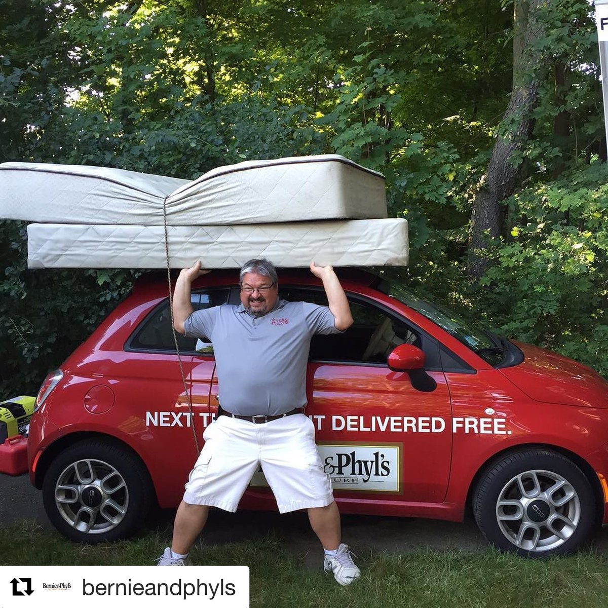 Turtle Transit On Twitter Our Mattress Loaded Fiat For Bernie Phyl S Furniture Out The Road Builtbyturtle Fibergl Cars