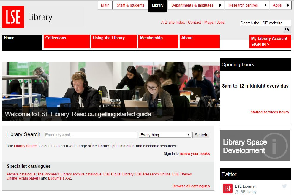 LSE Library on Twitter: