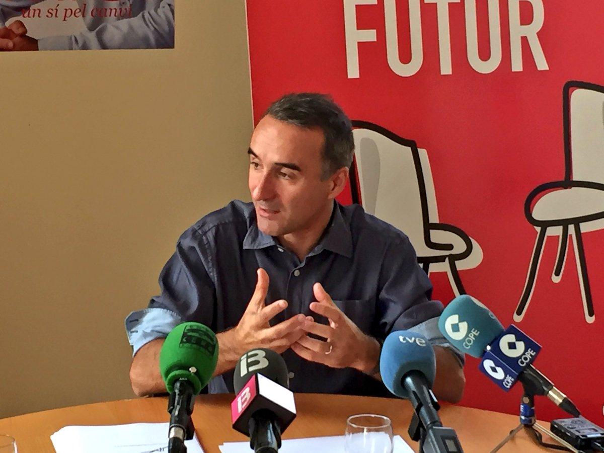 Juan Pere Pons: 'Armengol no es una voz crítica en el PSOE. Hay muchas personas que comparten su visión'