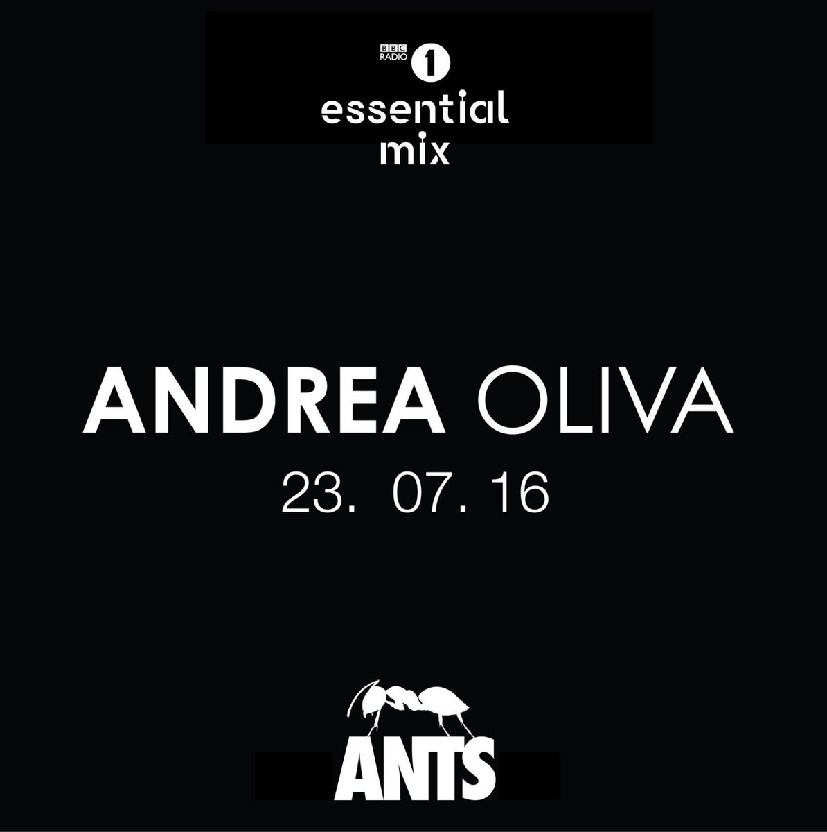 At last tonight we get to hear the @AndreaOliva1 @essentialmix recorded live at @UnitedAnts on @BBCR1 Get tuned!!! https://t.co/7J1pAn9Yd6