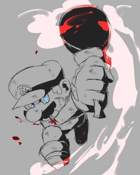 戦うマリオが好き。無双も好きですし苦戦する展開も好き。武器振り回すマリオさんが好き。怪我しても恐れずトドメ刺しに行くマリオさんが好き。そんなマリオさんの戦闘マンガが見たい…です……