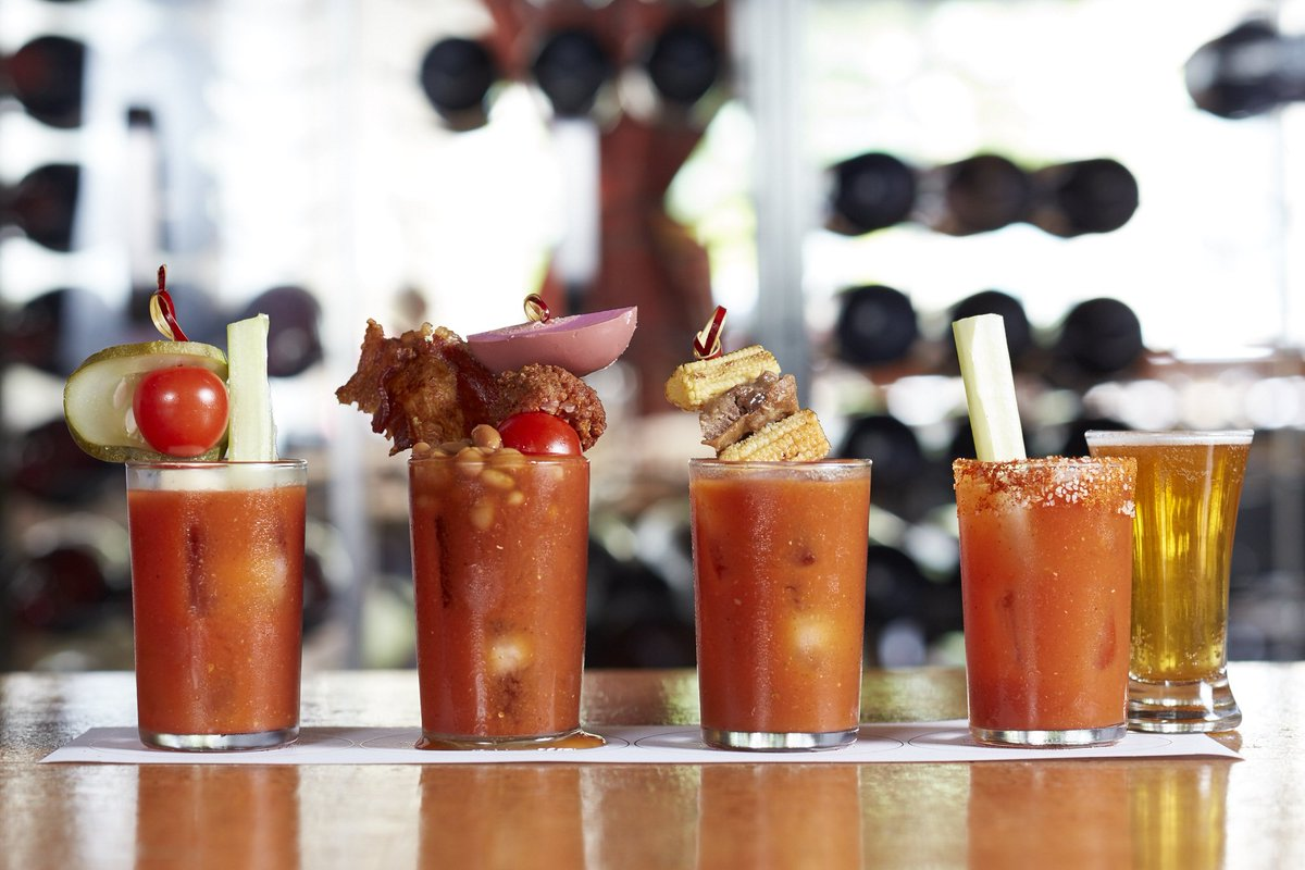 Brunch starts at 10am — when Bloody Mary flights on our patio becomes reality. https://t.co/b0ow8UFNSP
