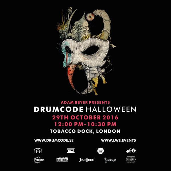 Just announced! RT & follow to win a pair of tickets to #Drumcode Halloween - https://t.co/EGVdUuygpr https://t.co/Oqm9dPgwgw