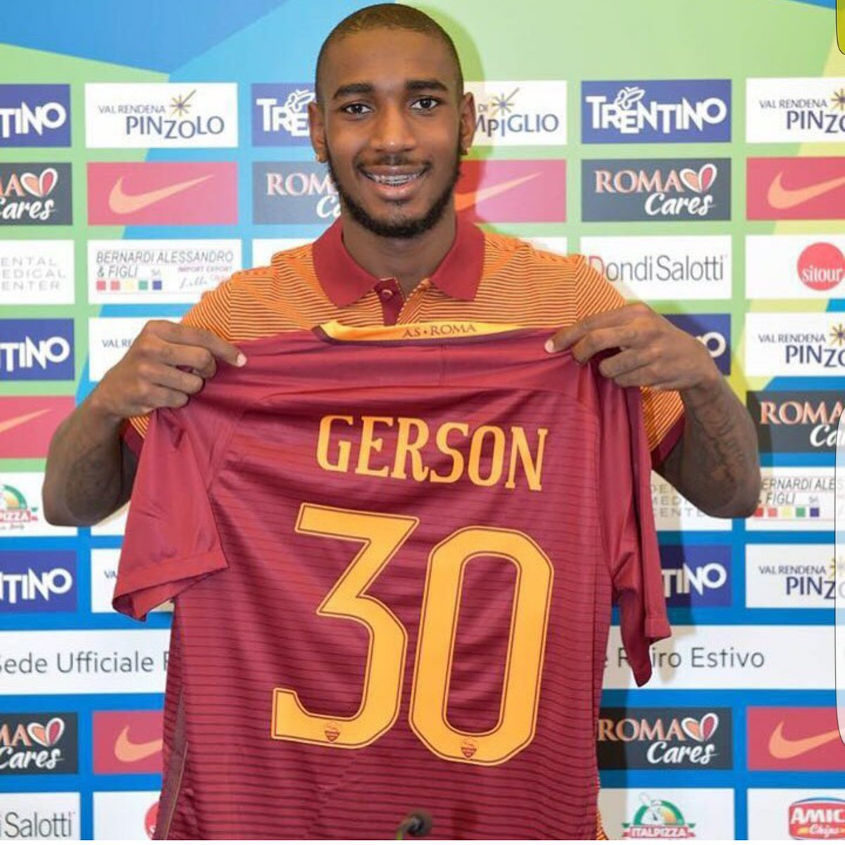 "Mark Tluszcz on Twitter ""Our player Gerson Santos now at Roma"