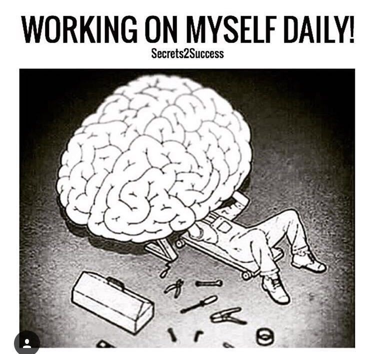 What are you working on today to build that 6 pack of the brain?  #ThursdayMotivation