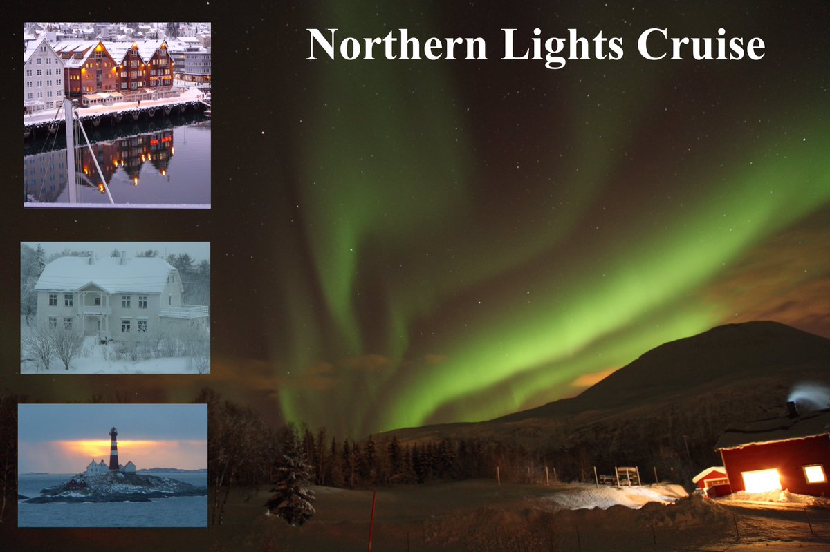 The Northern Lights bring out all your emotions. lynnemorley.blogspot.com/2015/11/my-sea… #Hurtigruten #aurora #tromso #Arcticcircle