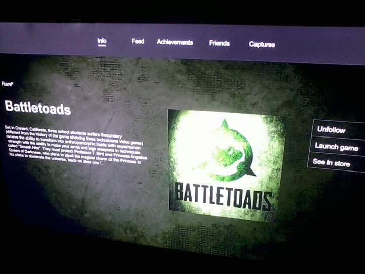 Battletoads é visto na loja do Xbox. Será este o seu retorno? CnCAAhDXEAAXJhW