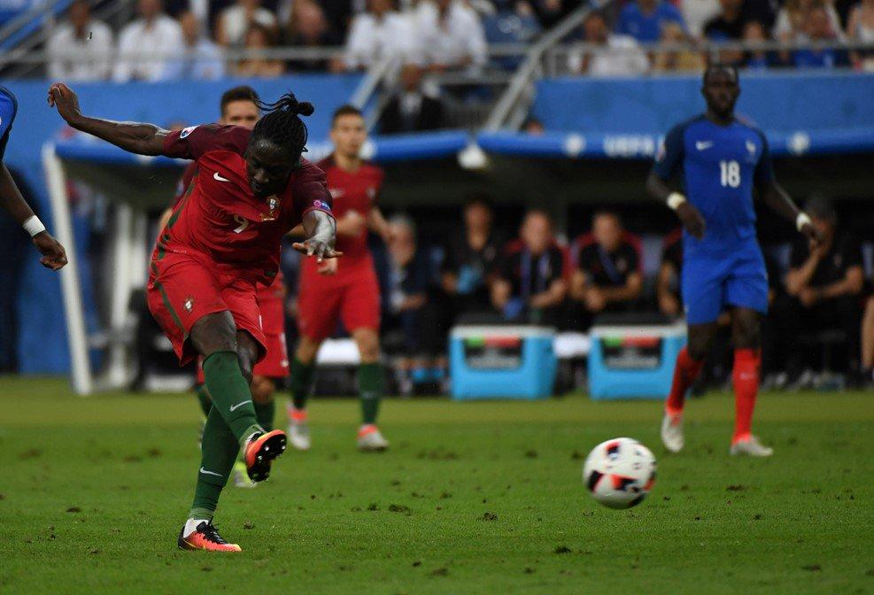 اهداف مباراة فرنسا والبرتغال 0-1  نهائى اليورو   هدف ايدير ضد فرنسا