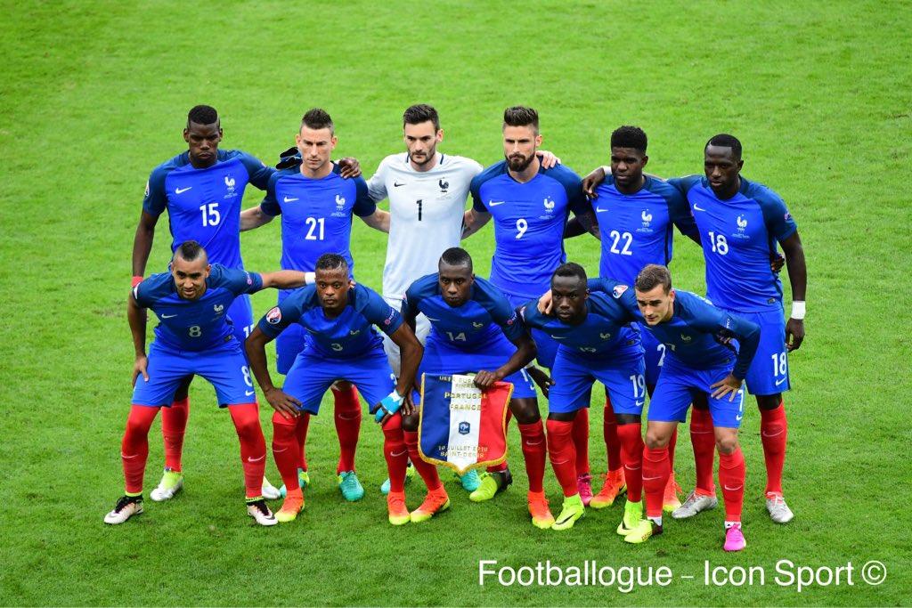 [#EURO2016] BRAVO À L'EQUIPE DE FRANCE POUR SON PARCOURS ET SON ÉTAT D'ESPRIT IRRÉPROCHABLE !