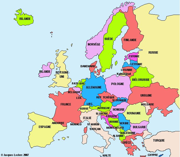 carte de l europe en francais IlIIIllIIIll🎩 on Twitter: