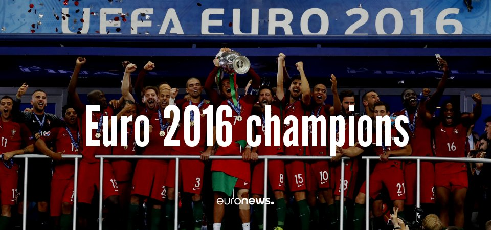#Portugal. Unfancied, criticised, mocked. Winners https://t.co/5WtSiot7sF
