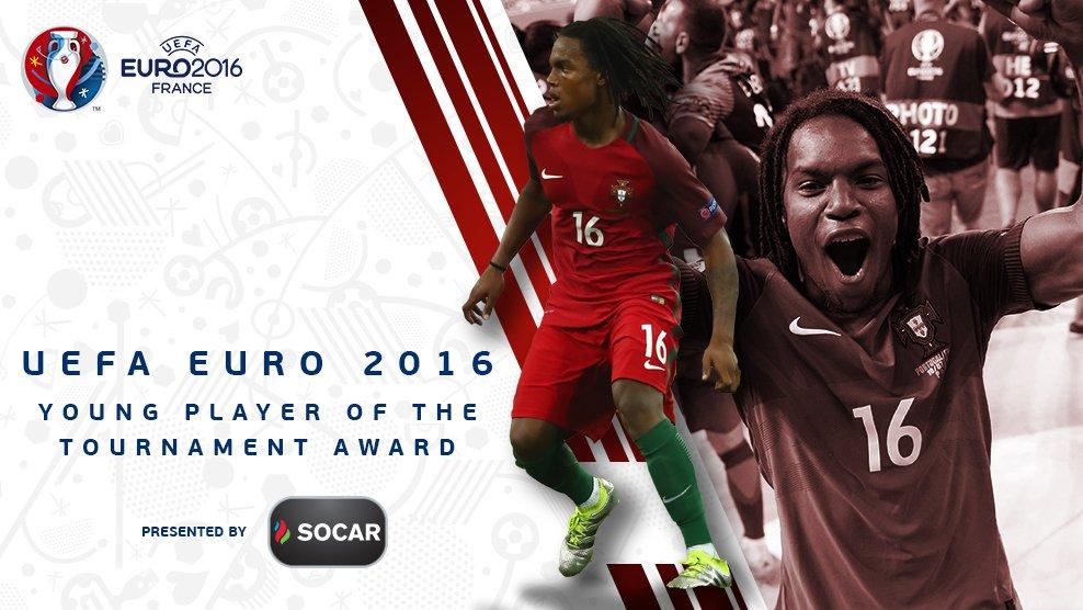 Kalahkan Coman dan Guerreiro, Renato Sanches Pemain Muda Terbaik Euro 2016