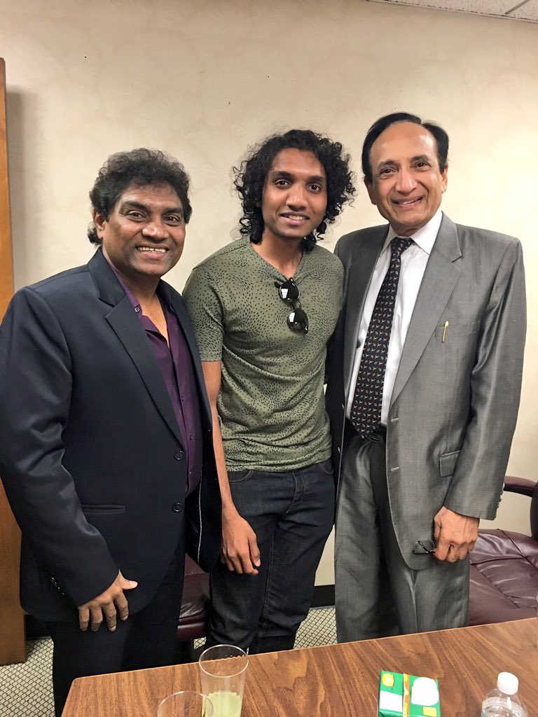 """Johny Lever on Twitter: """"Reuniting with this great man! Dr ...  Johny"""