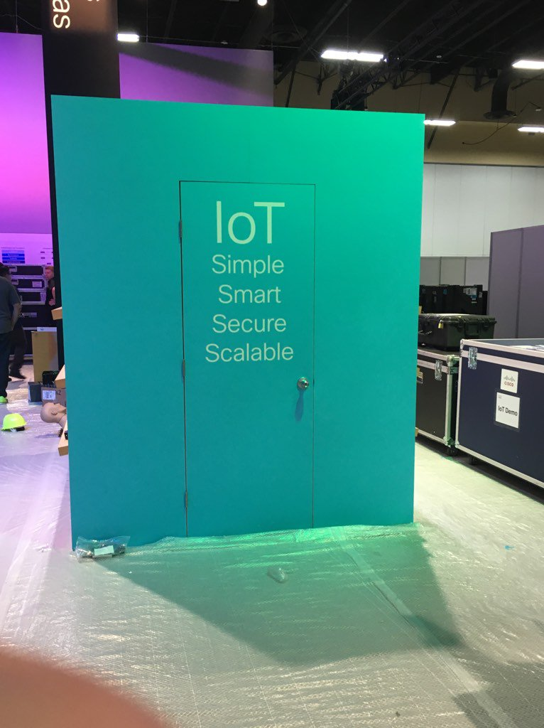 I HAVE FOUND THE INTERNET OF THINGS #clus @cisco_Iot https://t.co/XjaEGNXFbL
