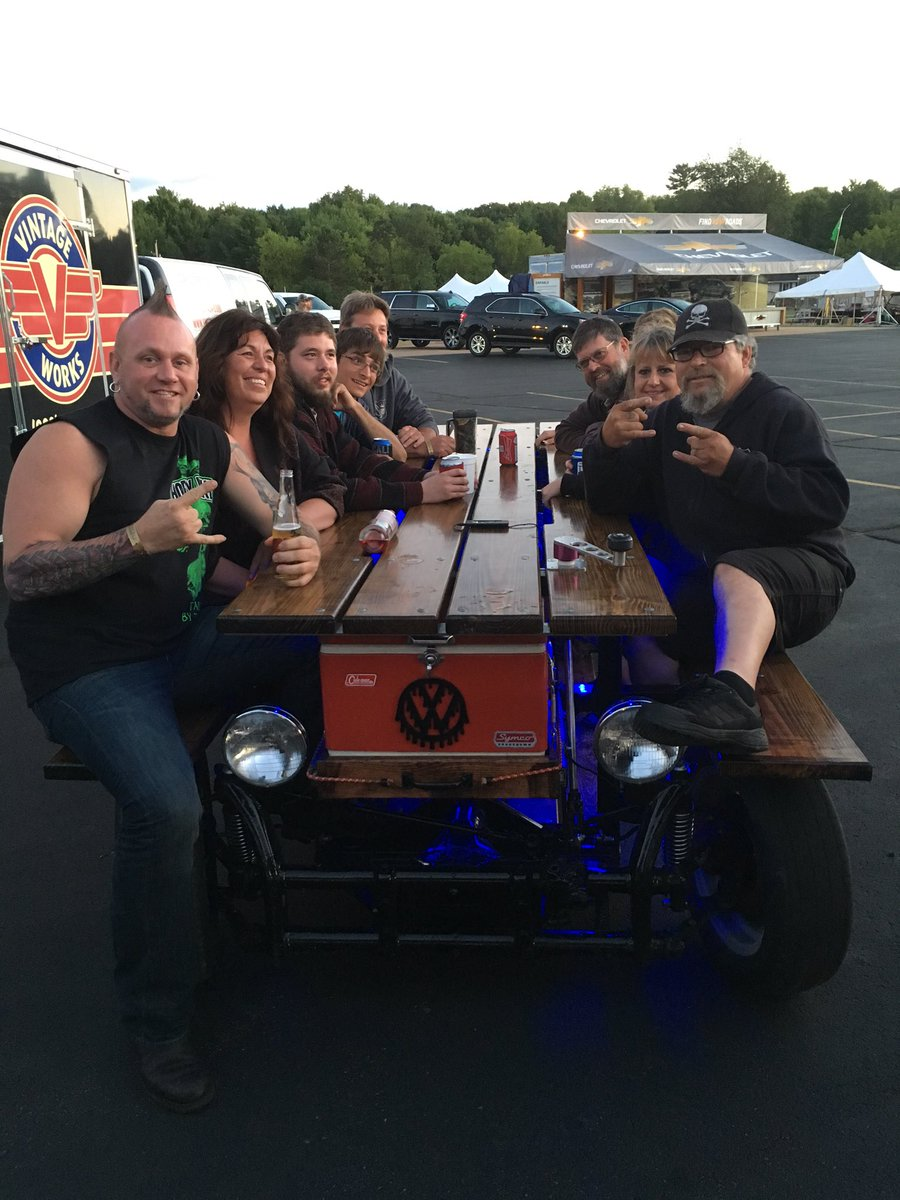 Horny Mike On Twitter Look At This Picnic Table Car VintageWorks - Motorized picnic table