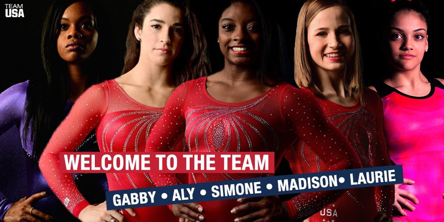 You ladies are going to Rio!