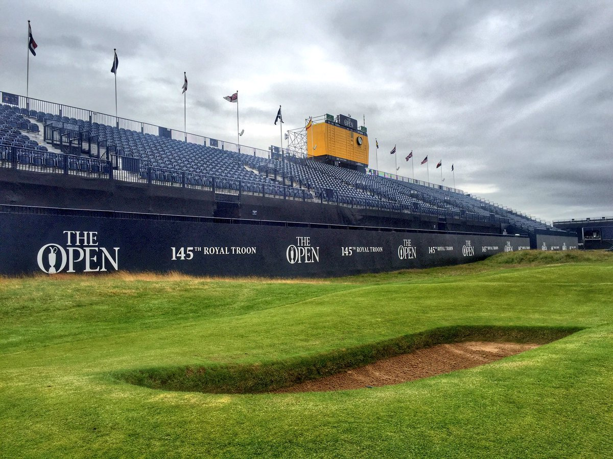 Welcome to Practice Day 2. #TheOpen