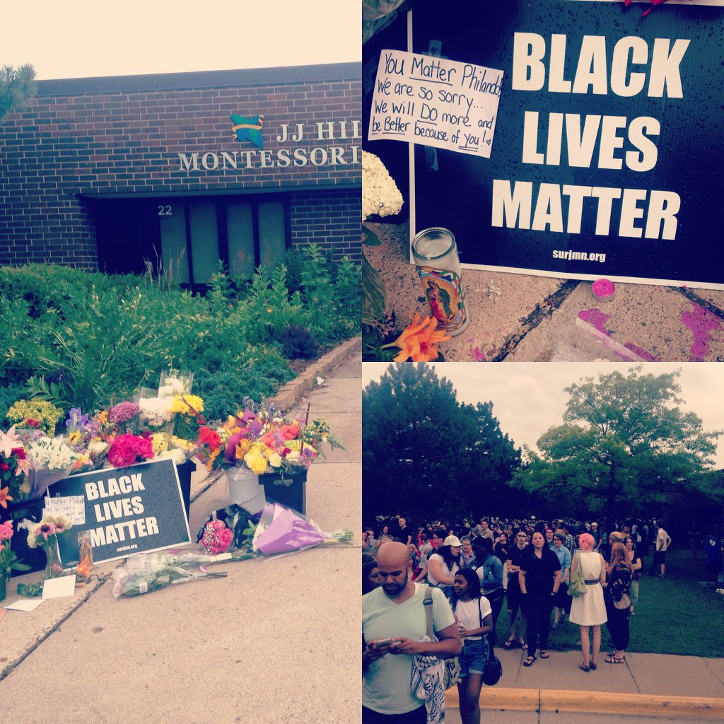 @rosariodawson my city is torn. Our country is hurting. Please retweet our Hermano's name #PhilandoCastile #StPaul https://t.co/lG7MVb9MwS