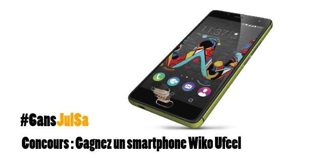 #Concours :Gagnez un smartphone @WikoMobile Ufeel en commentant sur https://t.co/3Y7cQglUxm puis Follow @JulSa_ + RT https://t.co/yPI7TZl9rp