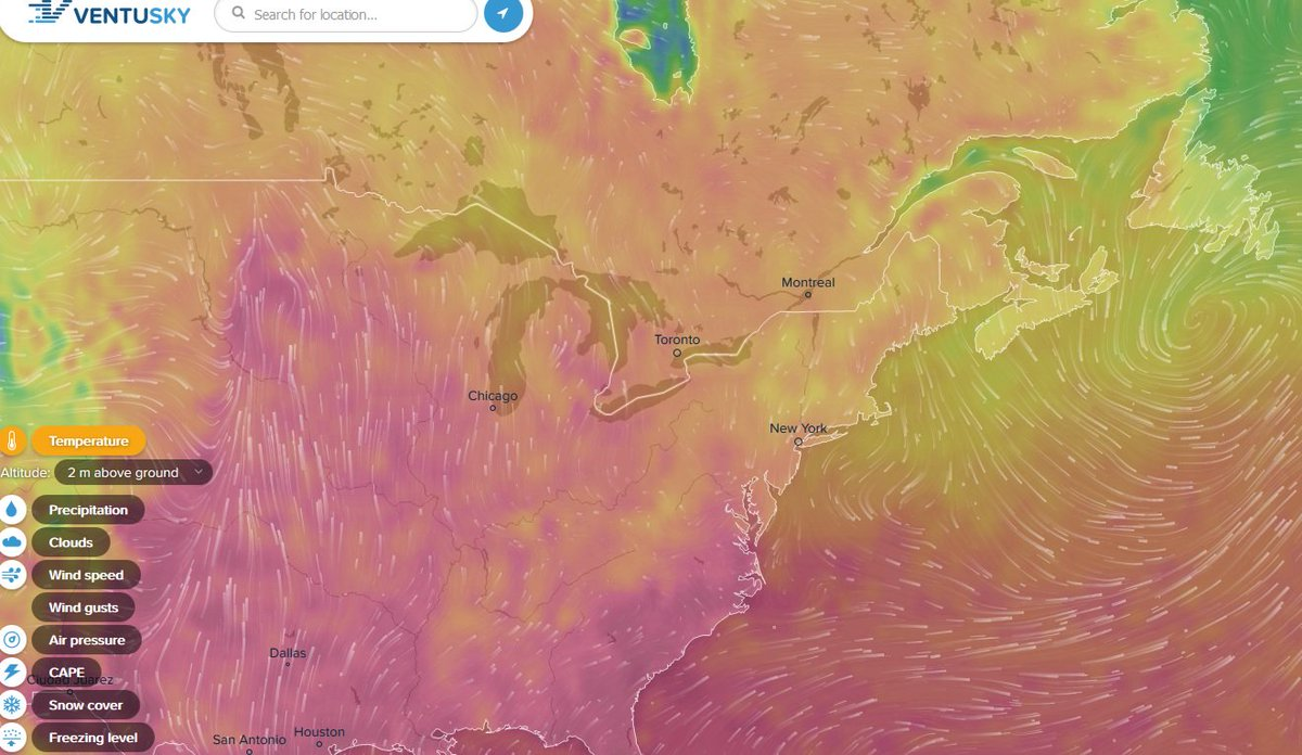 Live Global Weather Map.Harvard Cga On Twitter Global Live Weather Map Ventusky Https