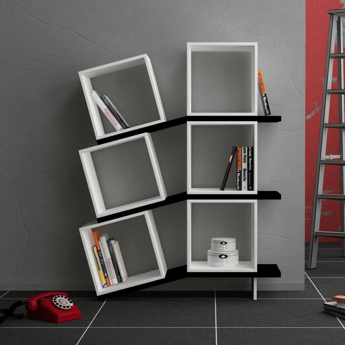 Scaffali E Librerie Design Legno.Librerie Bianche Moderne Awesome Libreria Legno Su Misura Di Qualit