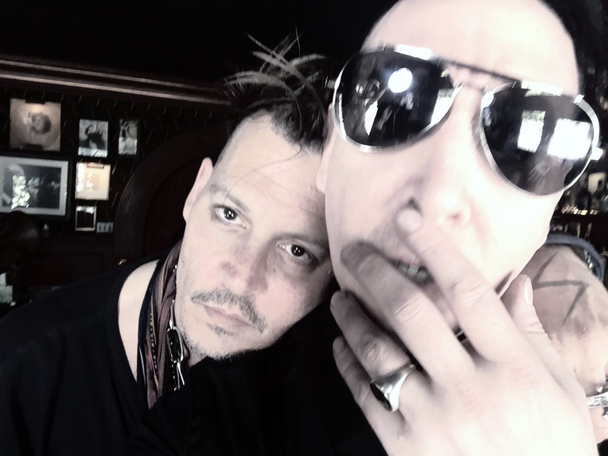 marilyn manson on twitter these brothers shall put our hearts into