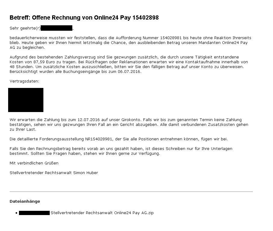 Vz Nrw Phishing On Twitter Phishing Durch Viren Mails Nimmt