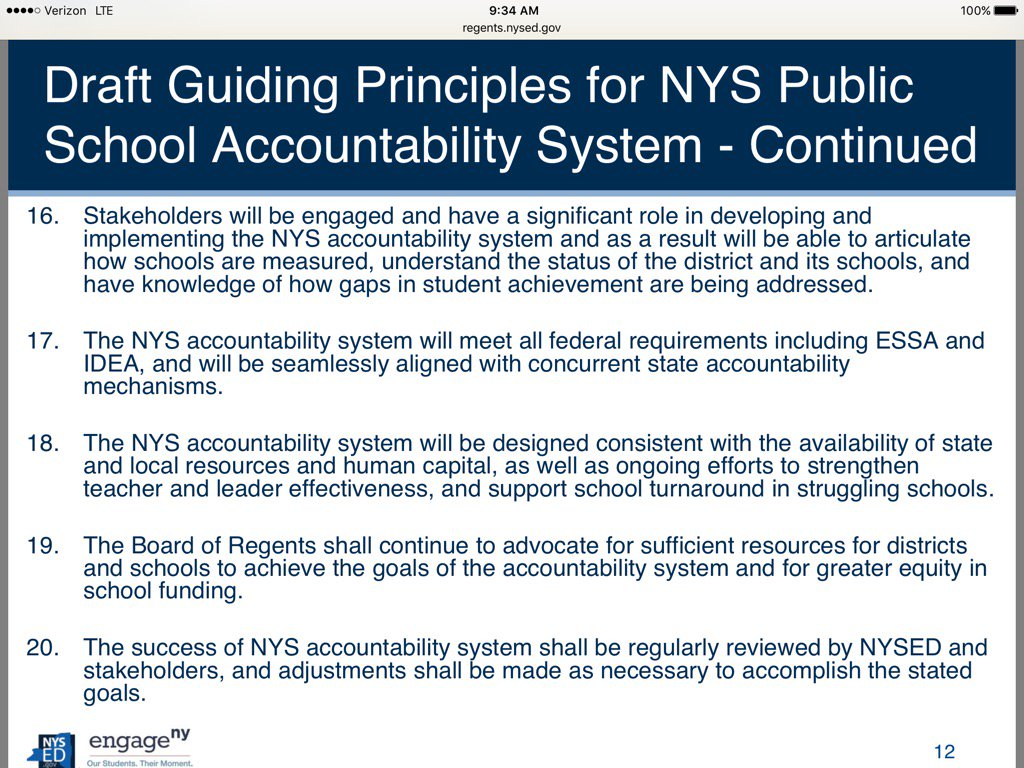 Principles 16-20 @NYSEDNews @NYSPTA @NationalPTA #ESSA https://t.co/gxEF2KW6S2