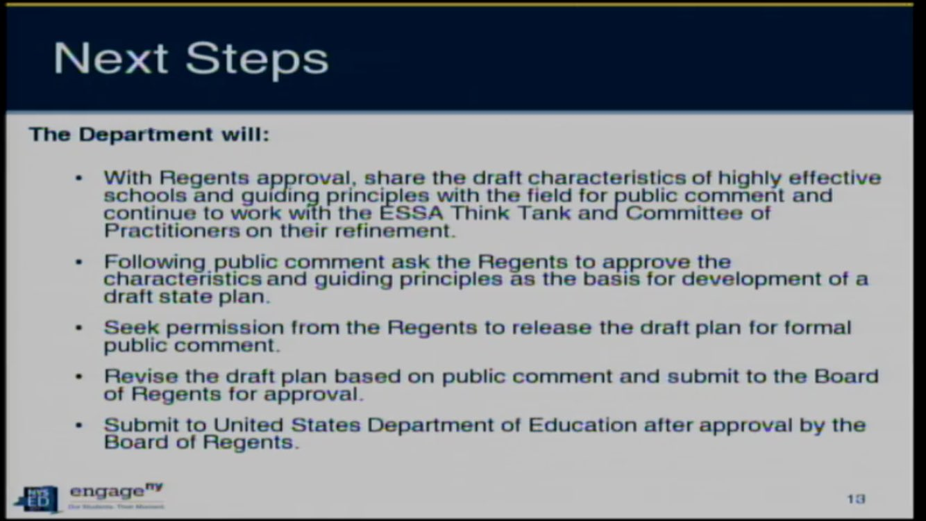 Next steps on #ESSA @NYSPTA @NationalPTA @NYSEDNews https://t.co/tbGWgKyh0r