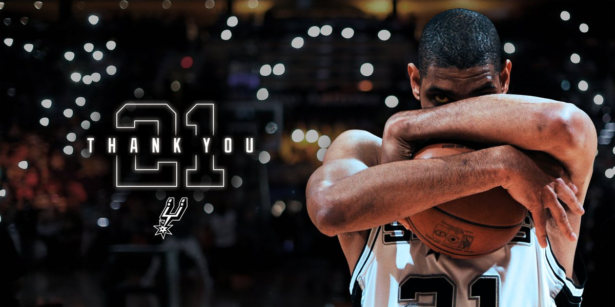 After 19 seasons, Tim Duncan announces retirement » https://t.co/kQimgv8oIB  #ThankYouTD