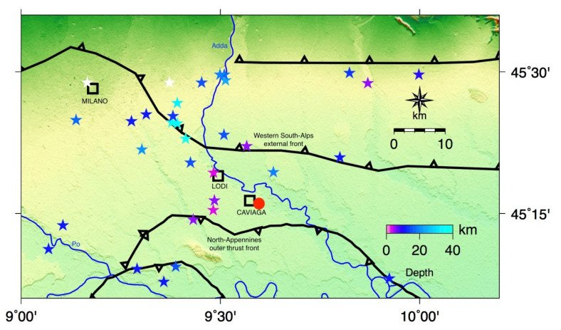 INGV Terremoti parla sul Terremoto a Caviaga del 1951 (Cavenago d'Adda)