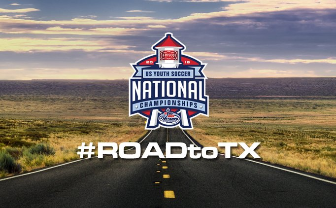 The schedule is now available for the @USYouthSoccer National Championships: https://t.co/yuTpeMd8Nj #ROADtoTX https://t.co/tgko3zKOir