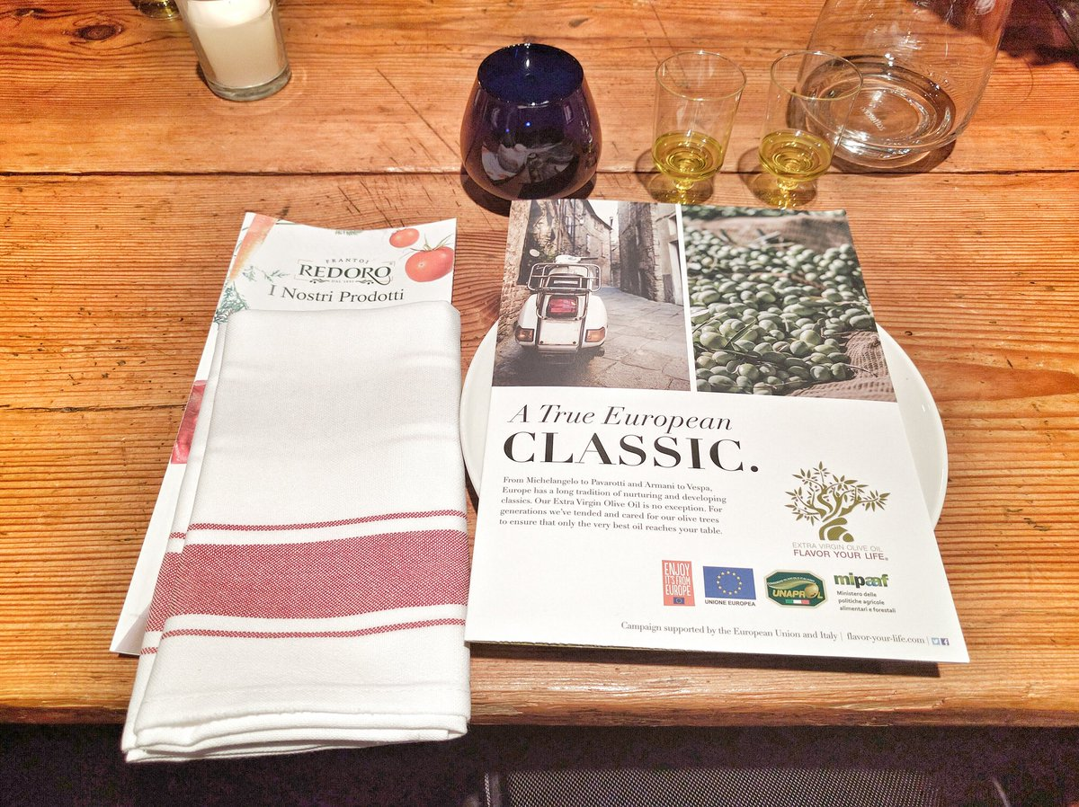 Travelling Foodie attends Olive Oil Tasting Event at BUCA